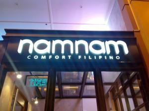 Namnam Comfort Filipino Food