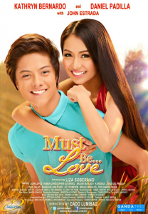 Must Be Love Official Movie Poster (KathNiel)