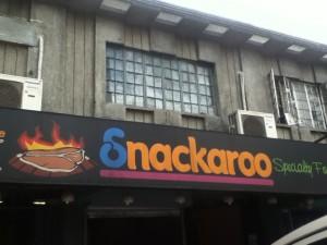 Snackaroo Maginoo cor Matalino Street, Quezon City