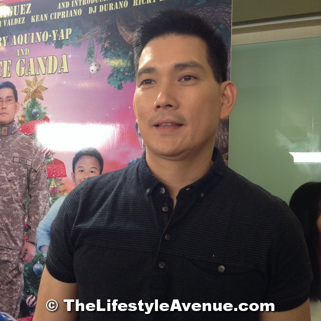 Richard Yap, General Chua, PRivate Benjamin
