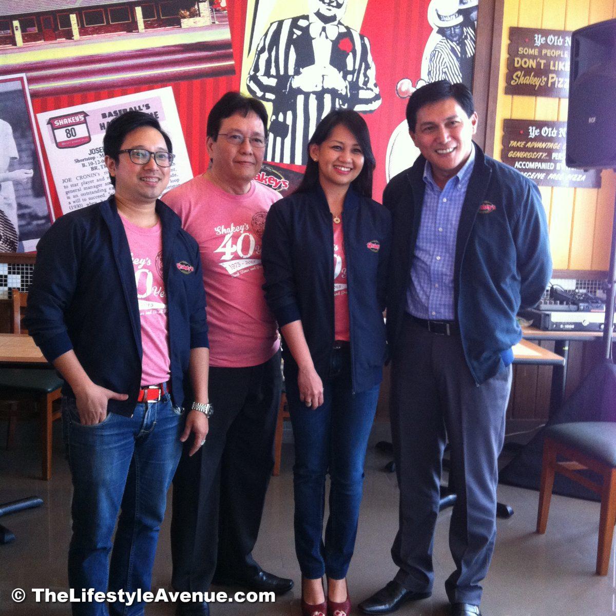 Shakey's Philippines turns 40