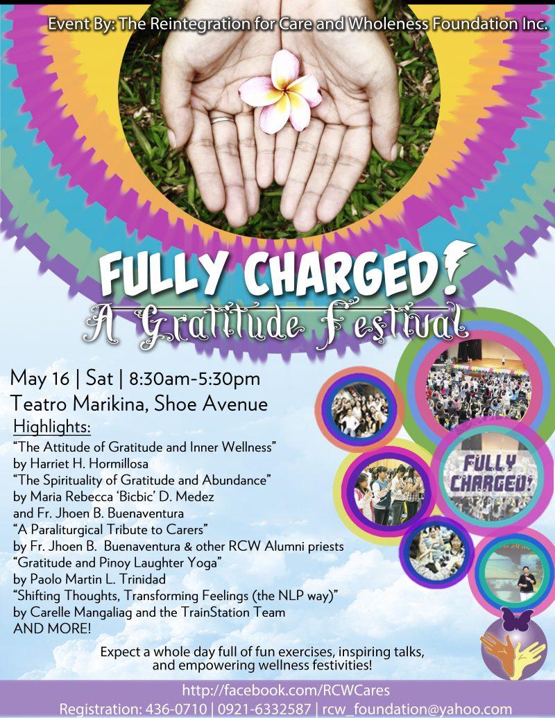 RCWFI Fully Charged Gratitude Festival