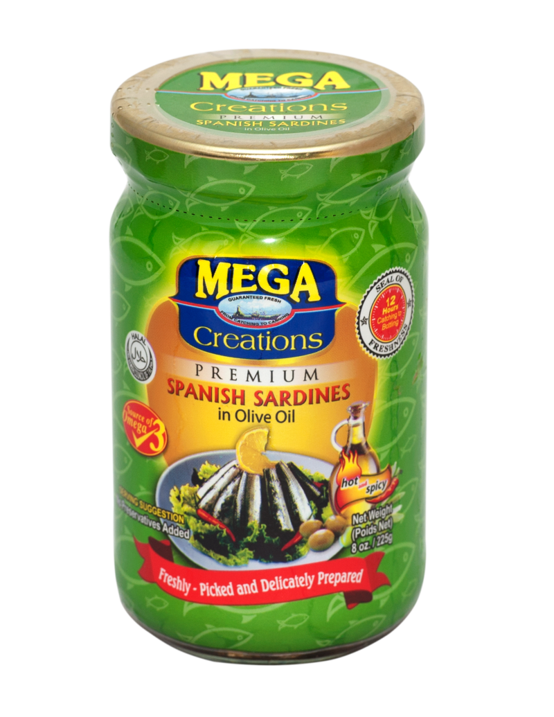 Creations Bottle _Spanish Sardines in Olive Oil