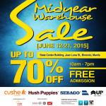 Sale Alert: Sebago & Hush Puppies Mid Year Warehouse Sale