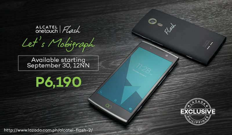 ALCATEL FLASH 2 Exclusively Available in LAZADA