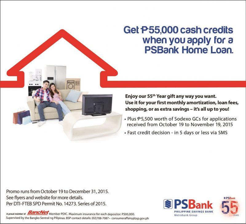 PSBank Home Loan_PR
