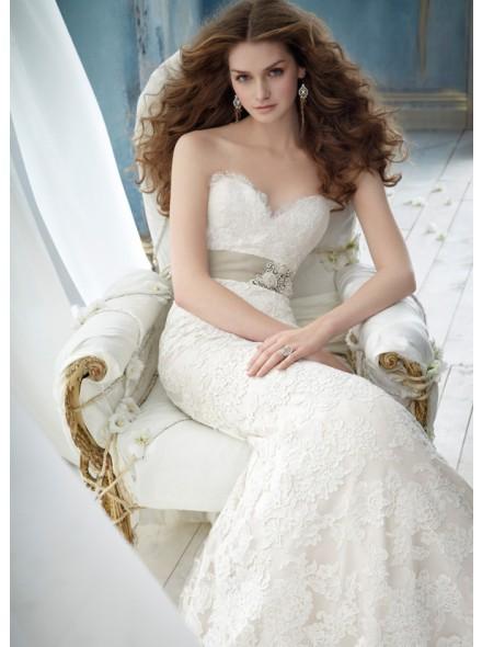 trumpet-mermaid-sweetheart-brush-train-wedding-dress-h5jc0121-a