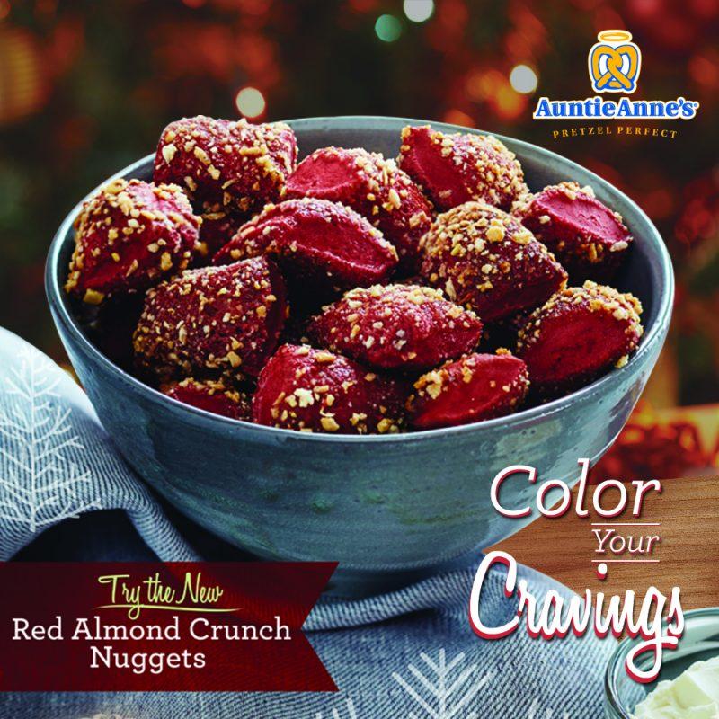 Print Red Almond Choco