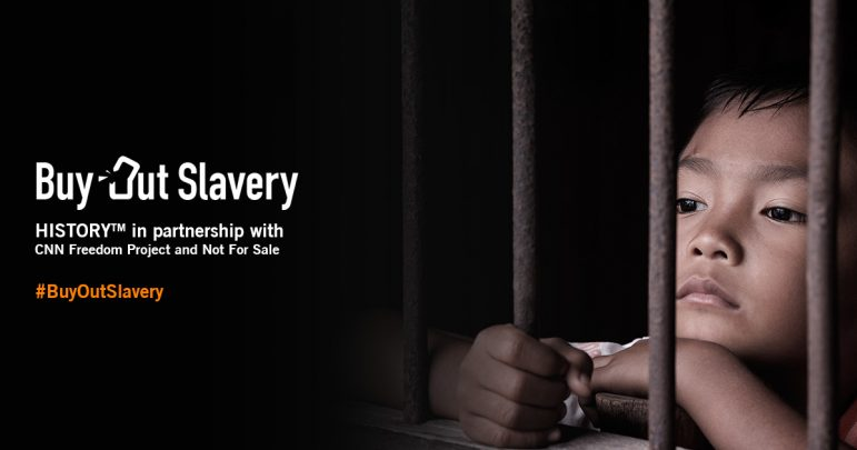 #BuyOutSlavery: With History, Not For Sale and CNN International
