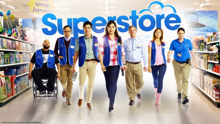 Superstore with copyright