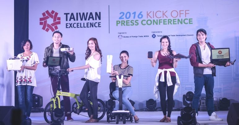 Taiwan Excellence brand partners showcased their products.