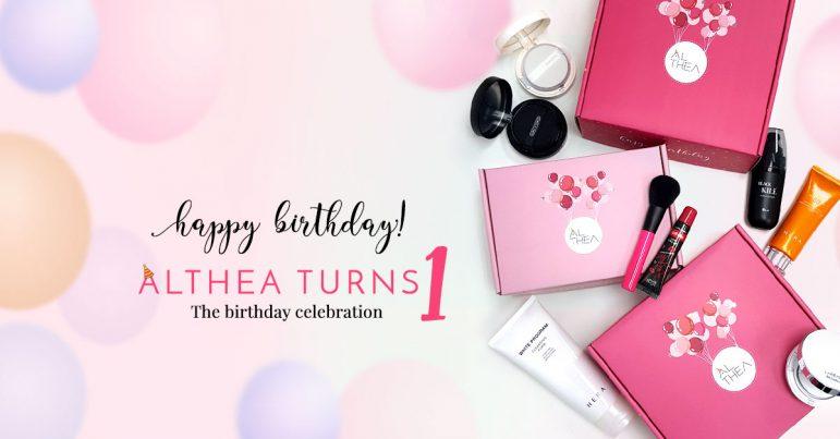 Althea Korea's First Birthday Celebration