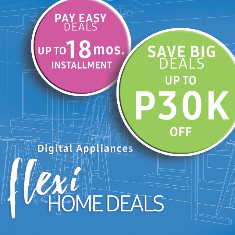 Promo Alert: Samsung Digital Appliances Flexi Home Deals