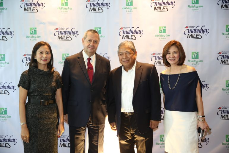 PAL Mabuhay Miles Partners with Holiday Inn and Suites Makati