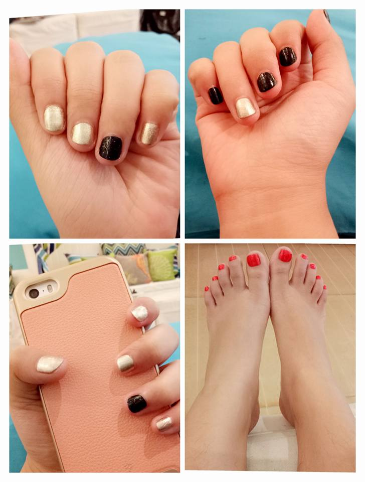 My Nailaholics treatment last October 9, 2016