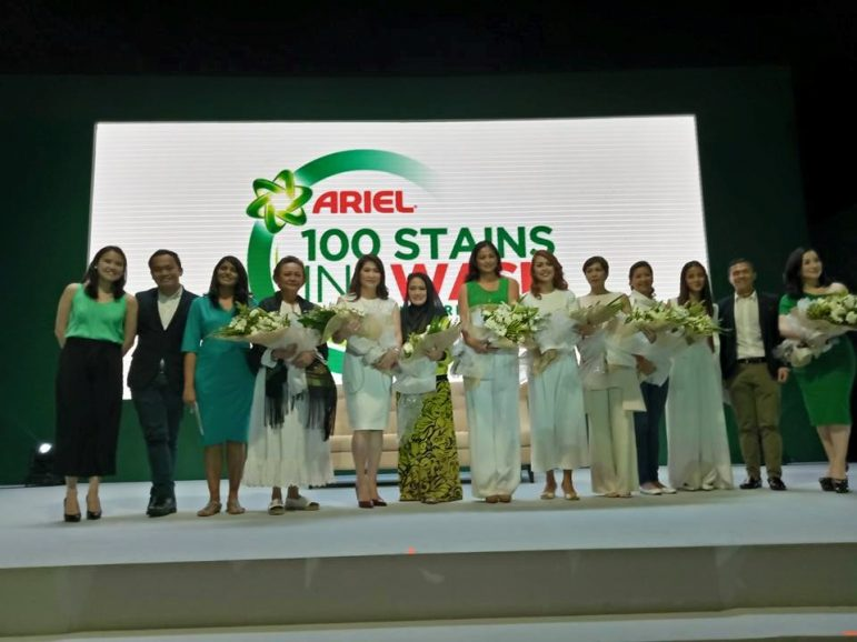 Ariel: 100 Fearless Filipinas and 100 Tough Stains