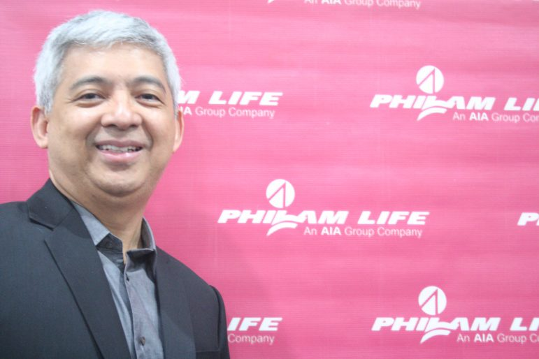 "Mr. Ariel ""Aibee"" Cantos, the new CEO of Philam Life."