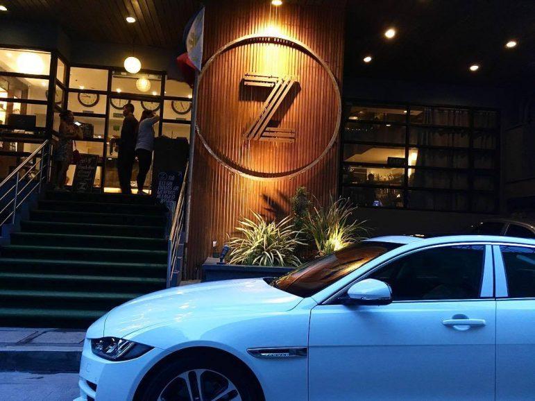 Zhostel entrance.