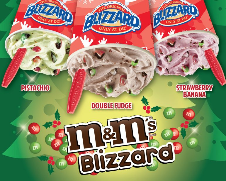 Blizzard of the Month: M&M's Red and Green Official Poster