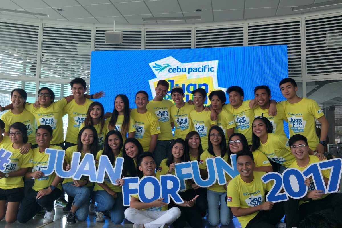 Send Off To The Participants of Juan For Fun 2017