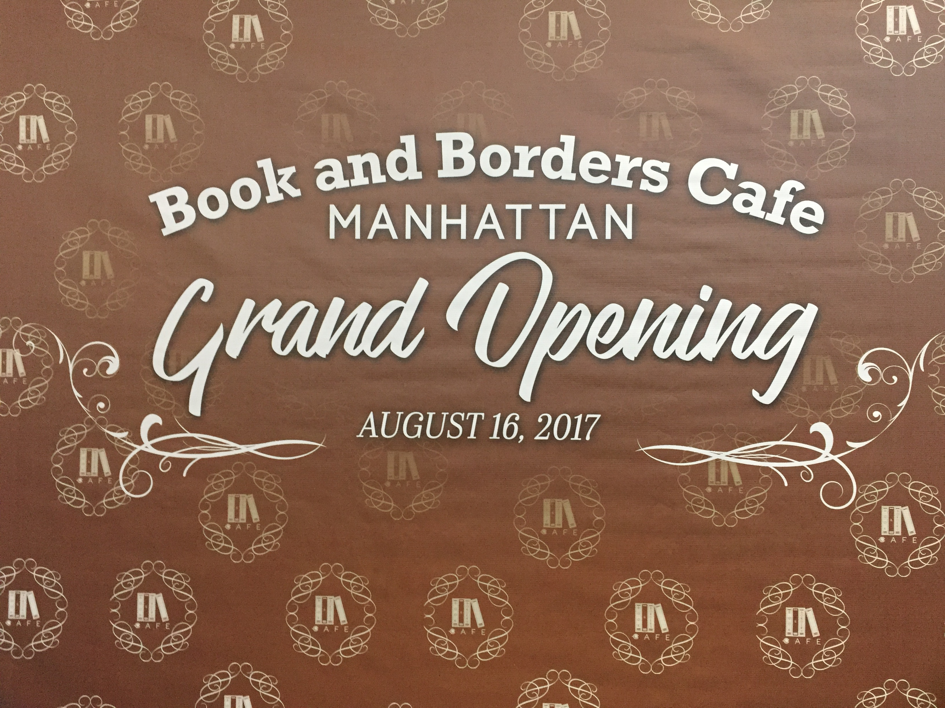 Book and Borders Cafe Manhattan Parkview