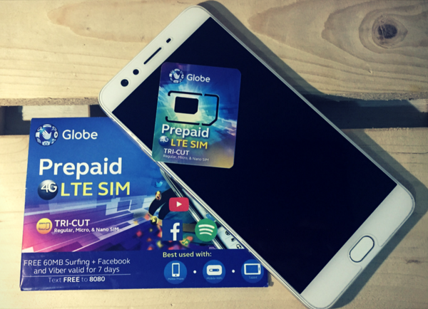 Globe Prepaid Choose Your Number SIM Card - The Lifestyle Avenue