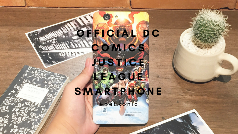 #BeEkonic: Official DC Comics Justice League Smartphone