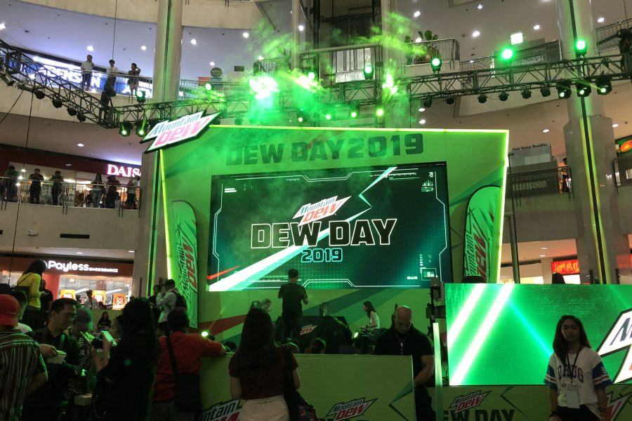 #DewDay2019 main stage